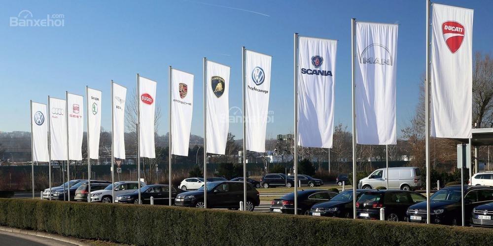 cờ hiệu các thương hiệu ô tô của Volkswagen