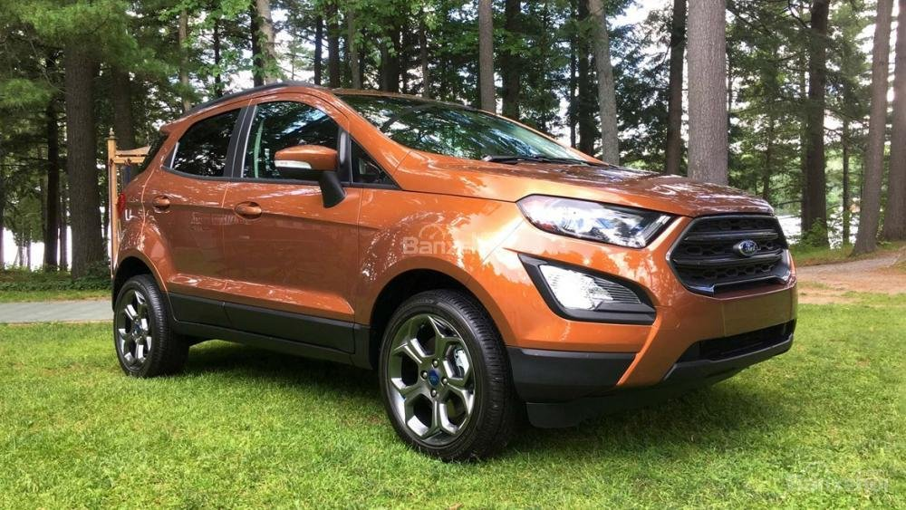 Ford Ecosport 2018 màu cam