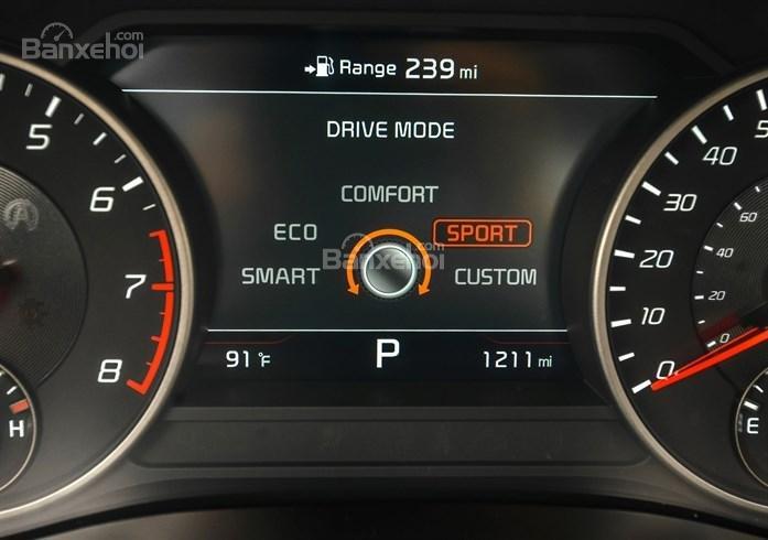 Màn hình TFT 7 inch xe Kia Stinger 2018