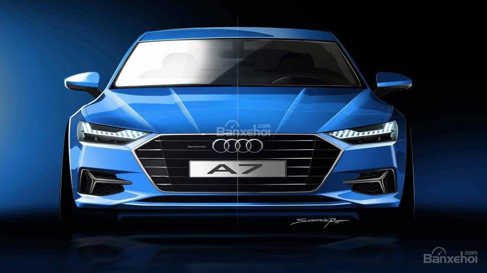 Đánh giá xe Audi A7 Sportback 2019: Đẹp hơn, nhiều công nghệ hơn a1