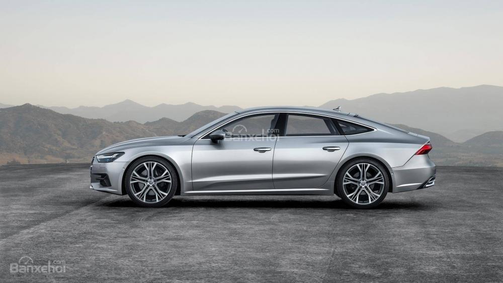 Thân xe Audi A7 Sportback 2019 thế hệ mới