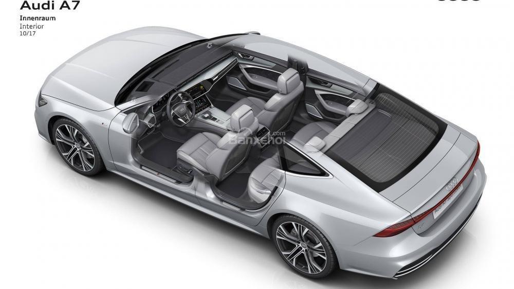 Đánh giá xe Audi A7 Sportback 2019: Đẹp hơn, nhiều công nghệ hơn a19