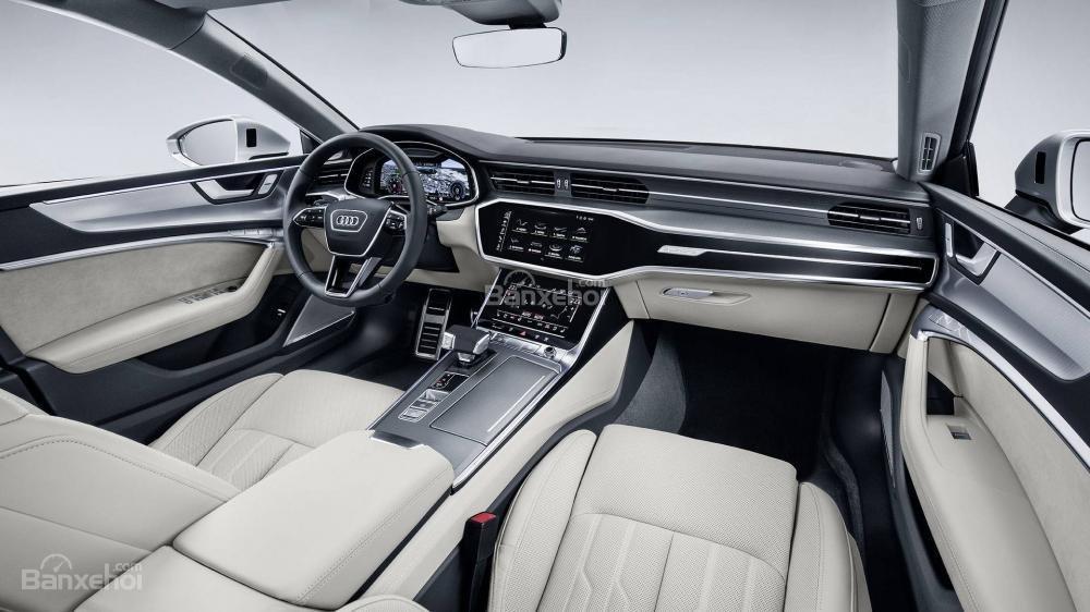 Khoang cabin Audi A7 Sportback 2019 sang trọng, công nghệ đầy tiền nghi
