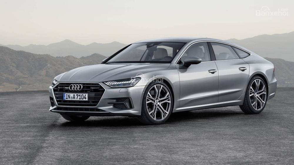 Đầu xe Audi A7 Sportback 2019 thế hệ mới