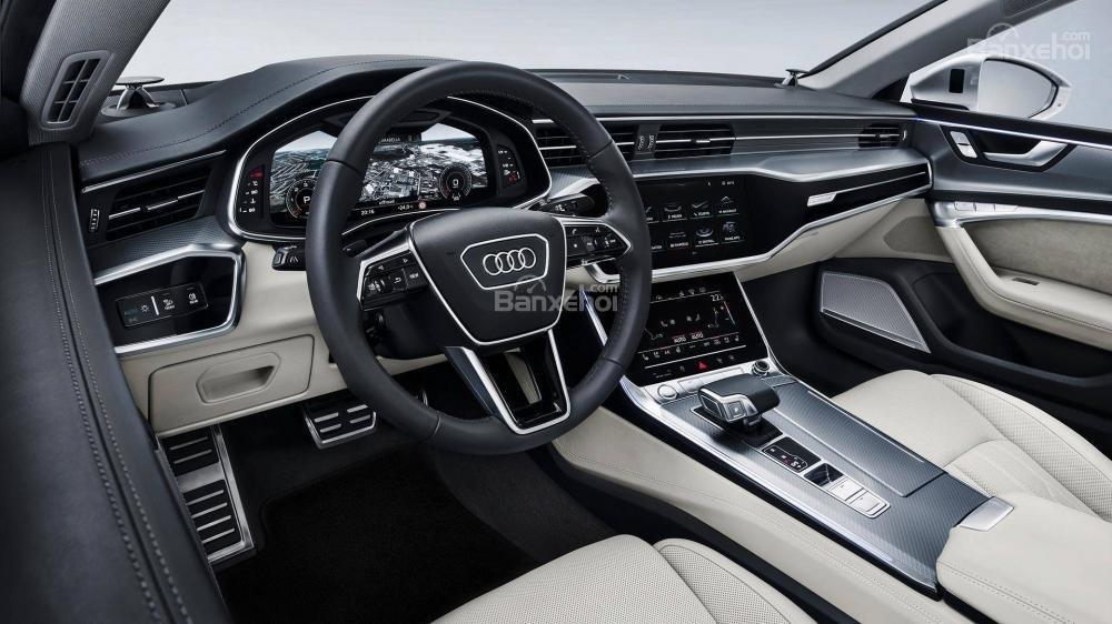 Đánh giá xe Audi A7 Sportback 2019 về nội thấta1