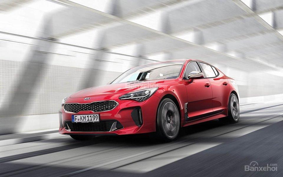 Đánh giá xe Kia Stinger 2018 về trang bị an toàn.