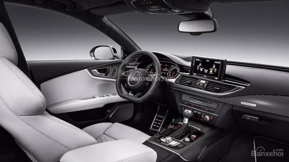 Khoang nội thất Audi A7 Sportback 2012 thế hệ đầu tiên