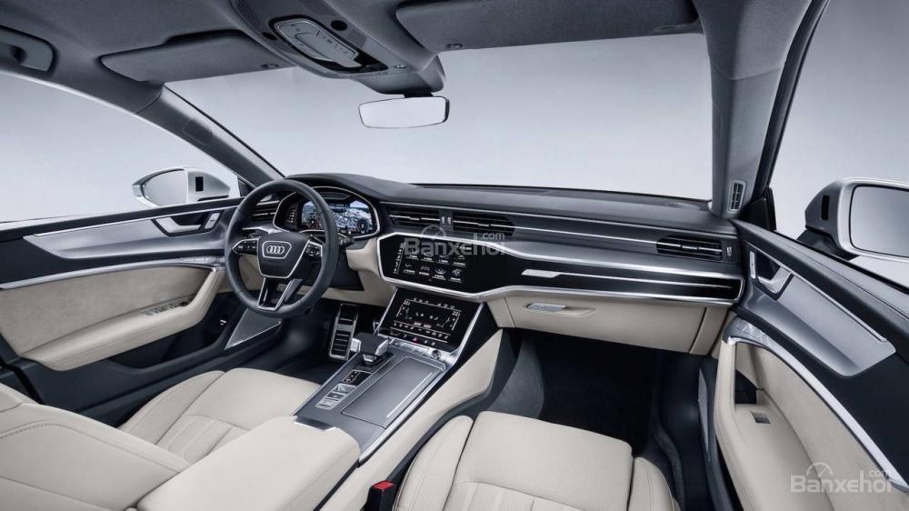Khoang nội thất Audi A7 Sportback 2019 thế hệ thứ 2