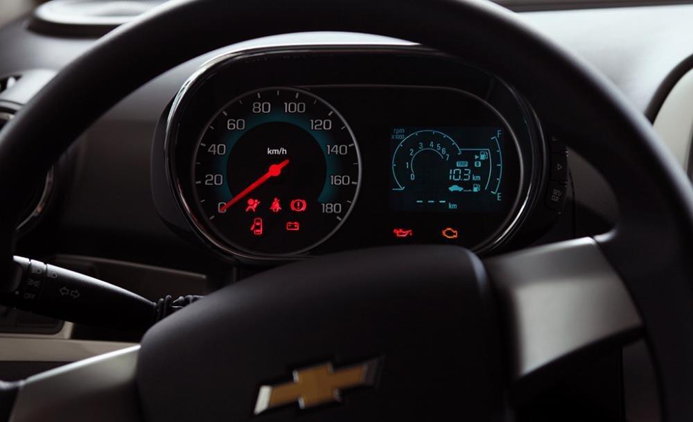 Hình ảnh cụm đồng hồ xe Chevrolet Spark 2018