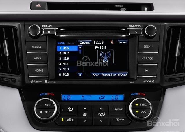 Nội thất Toyota RAV4 2018 2a