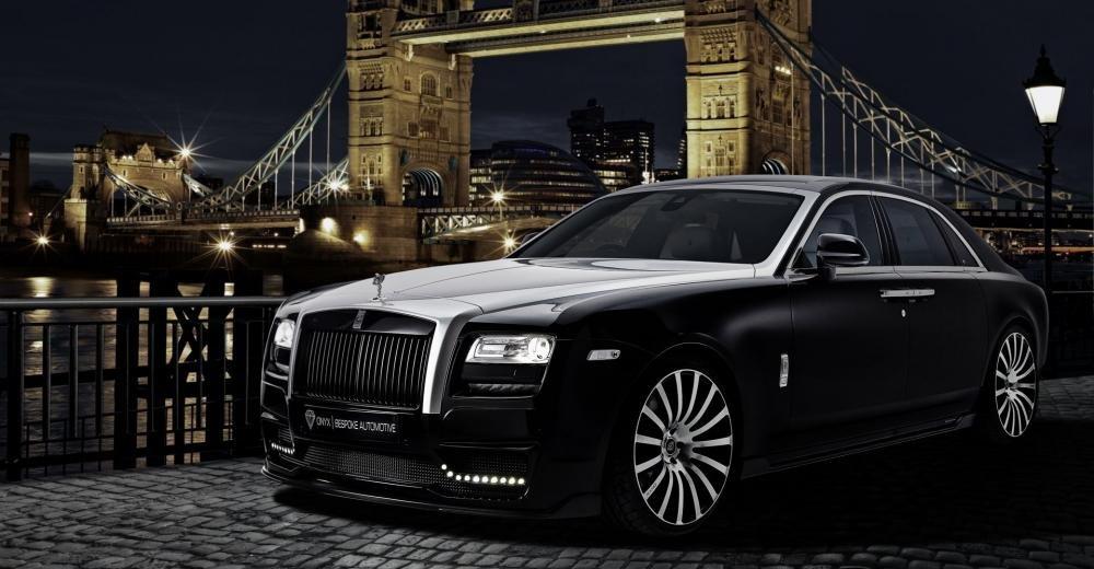 Ảnh chụp Rolls-Royce từ phía trước