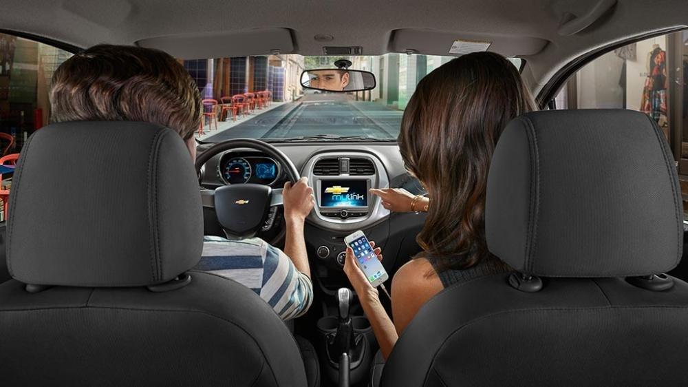 Nội thất của xe Chevrolet Spark 2018
