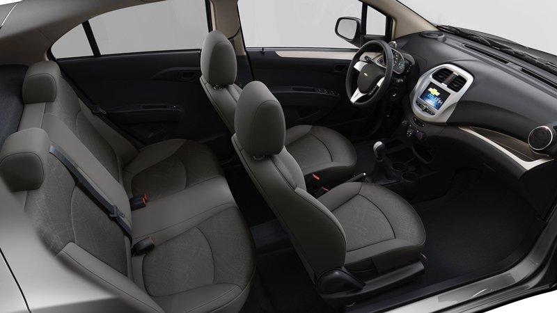 Hình ảnh nội thất xe Chevrolet Spark 2018