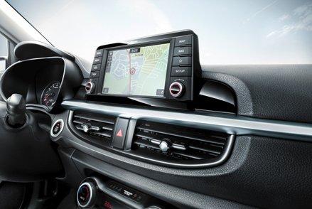 Đánh giá xe Kia Morning 2018: Bảng điều khiển.
