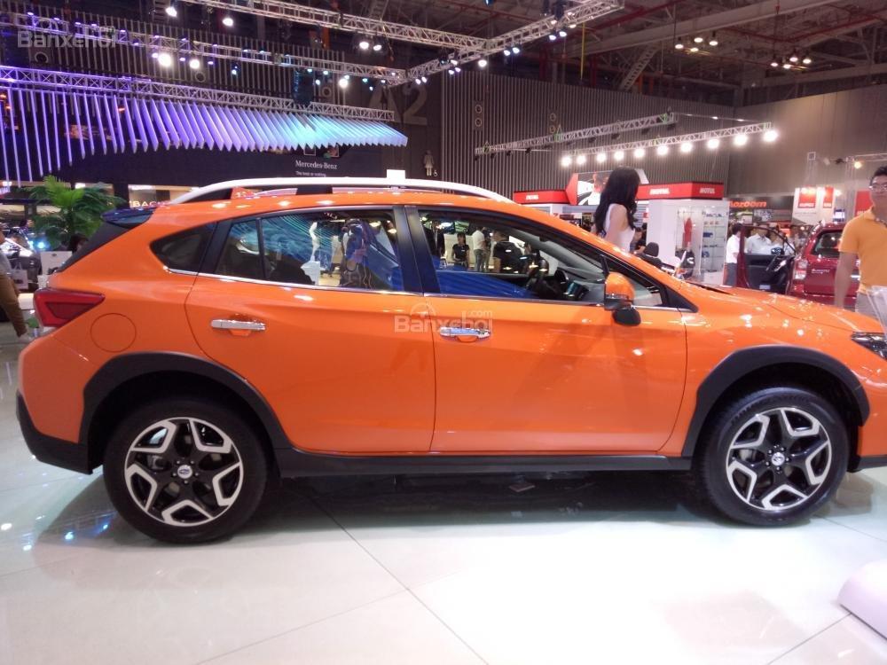 Đánh giá xe Subaru XV 2018: Thân xe gần giống như mẫu xe tiền nhiệm.