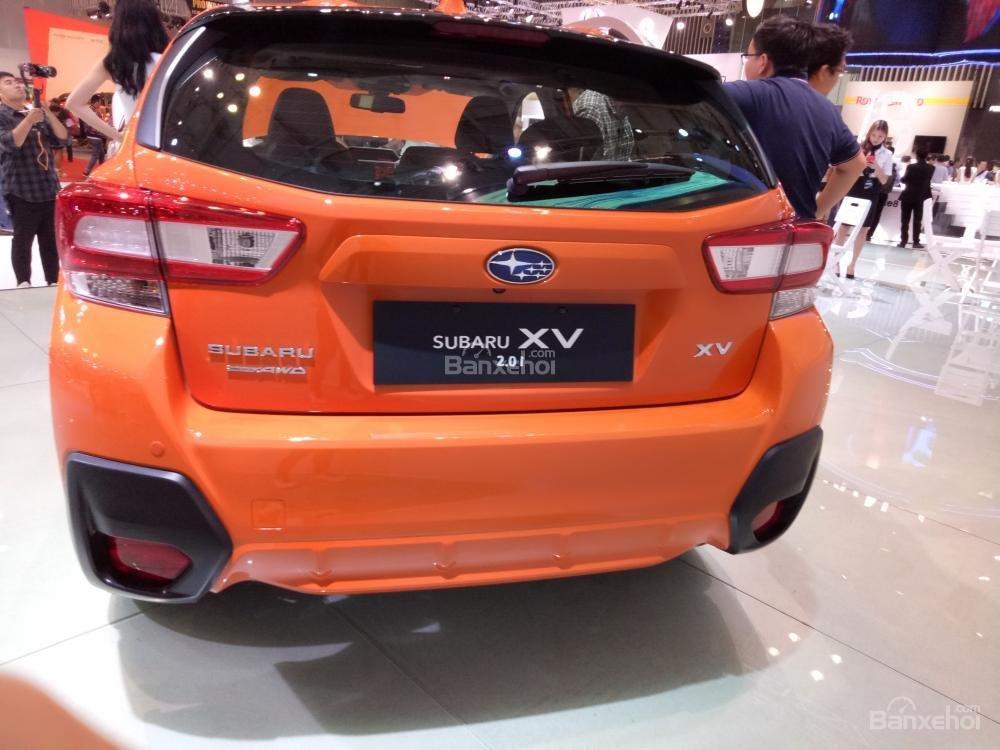 Đánh giá xe Subaru XV 2018: Đuôi xe tái thiết kế.