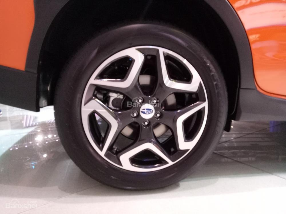 Đánh giá xe Subaru XV 2018: Mâm hợp kim.