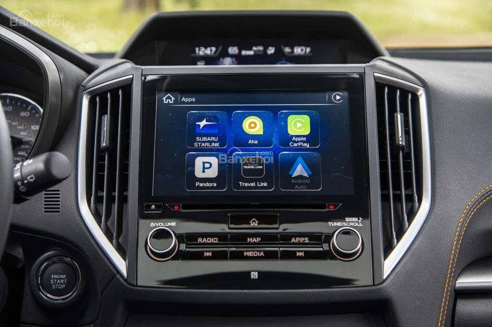Đánh giá xe Subaru XV 2018: Xe được trang bị nhiều tính năng hiện đại.