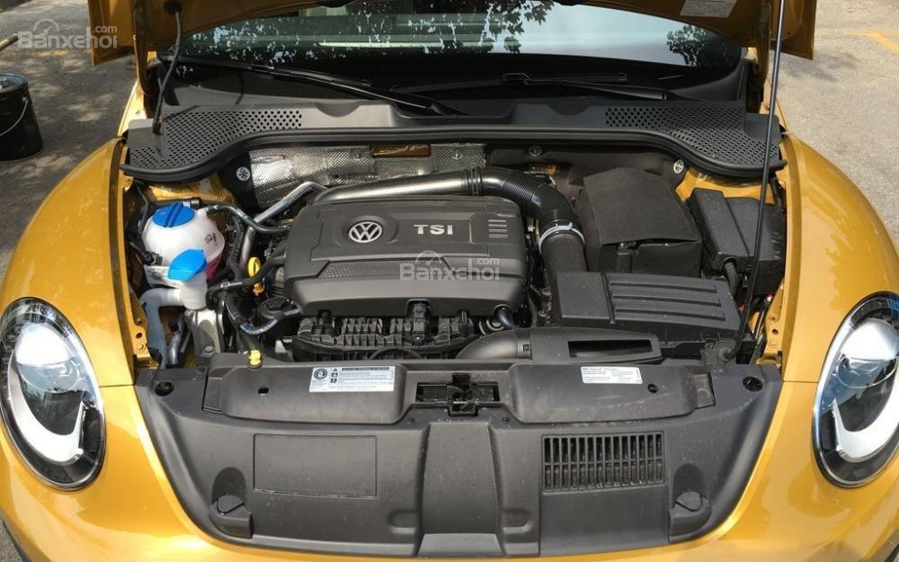 Đánh giá xe Volkswagen Beetle Dune 2017-2018: Xe có 2 tùy chọn động cơ.