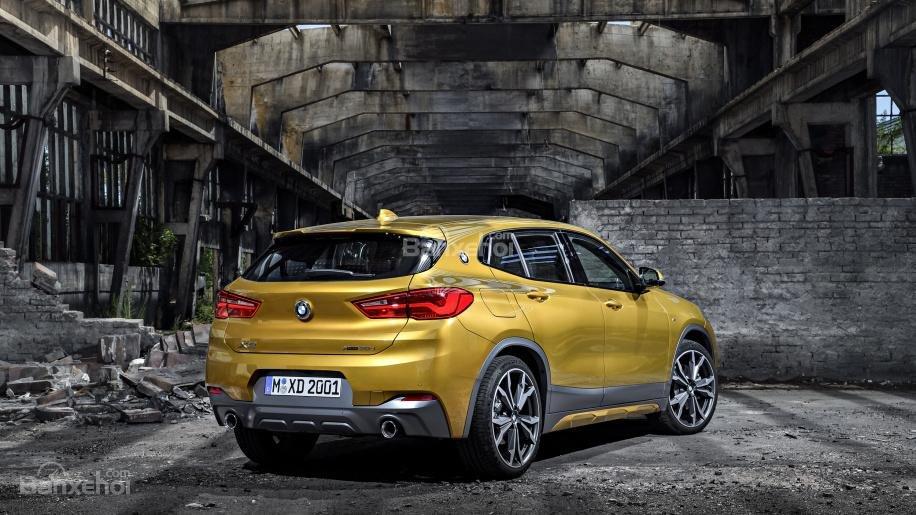 Ảnh chi tiết của BMW X2 2018 hoàn toàn mới a5