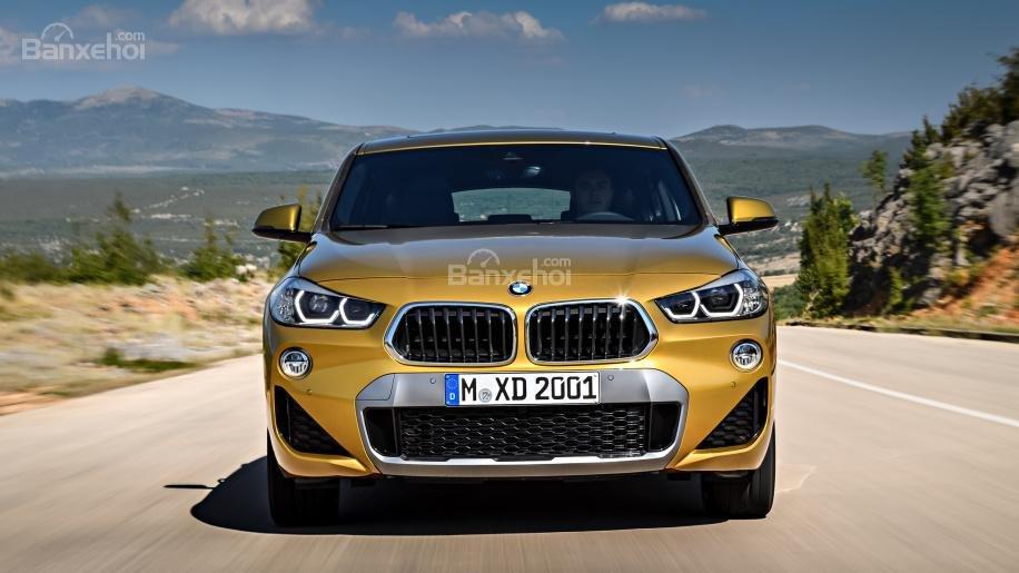 Đầu xe BMW X2 2018 1