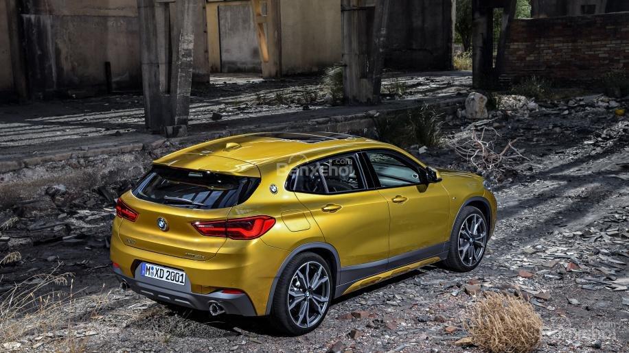 Đánh giá xe BMW X2 2018: SUV hoàn toàn mới mang tham vọng lật đổ Mercedes GLA và Audi Q3 a9