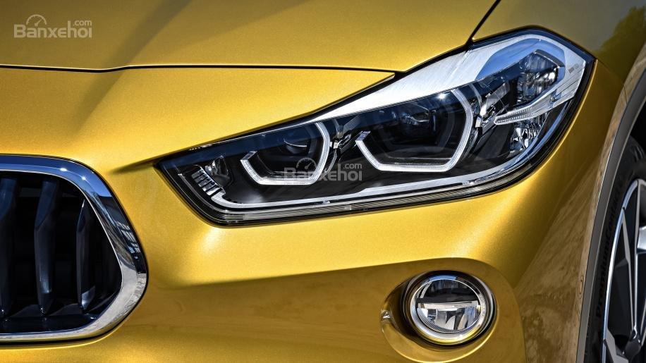 Ảnh chi tiết của BMW X2 2018 hoàn toàn mới a10