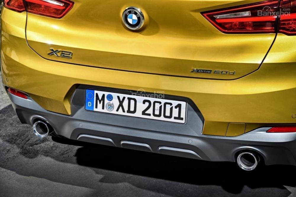 Ảnh chi tiết của BMW X2 2018 hoàn toàn mới a12