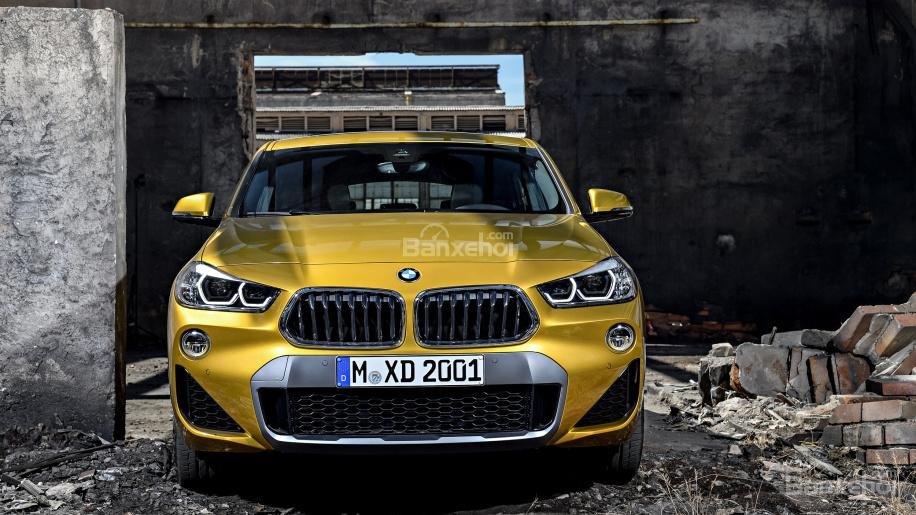 Ảnh chi tiết của BMW X2 2018 hoàn toàn mới a3