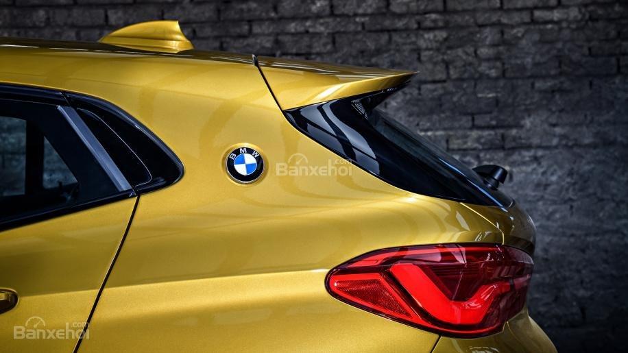 Ảnh chi tiết của BMW X2 2018 hoàn toàn mới a13