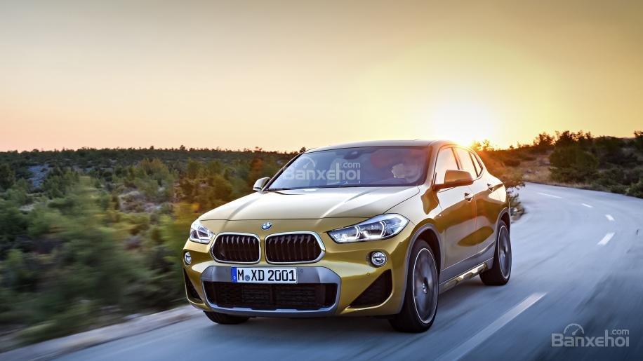 Ảnh chi tiết của BMW X2 2018 hoàn toàn mới a8
