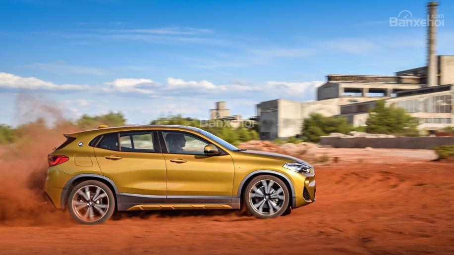Ảnh chi tiết của BMW X2 2018 hoàn toàn mới a7