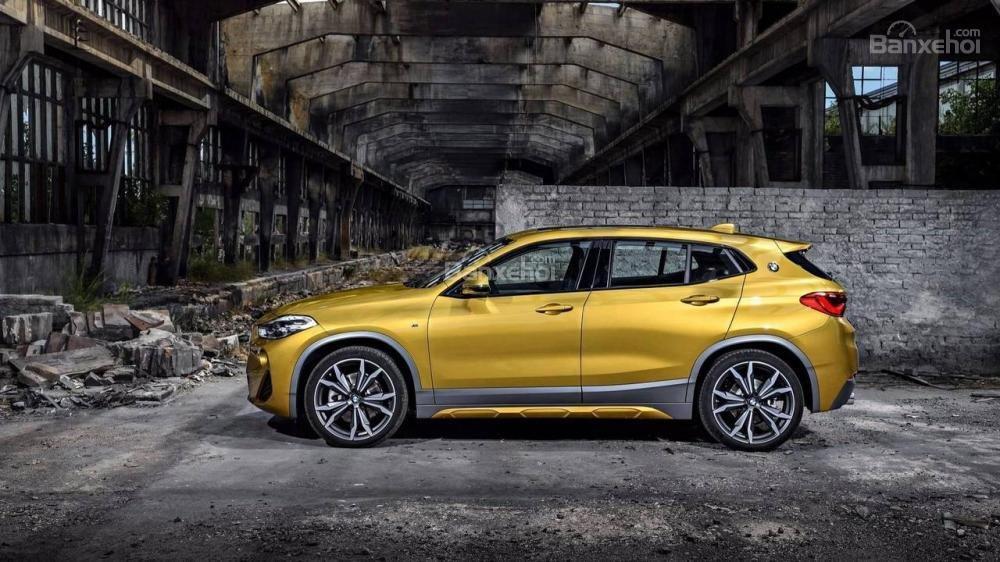 Thân xe BMW X2 2018