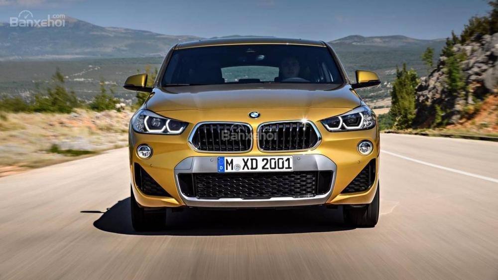 Đầu xe BMW X2 2018