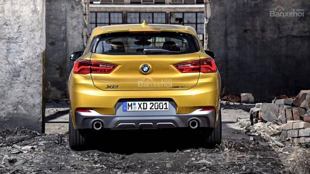 Đuôi xe BMW X2 2018
