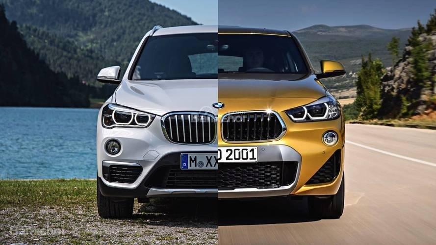 So sánh xe BMW X1 và X2 2018 hoàn toàn mới.