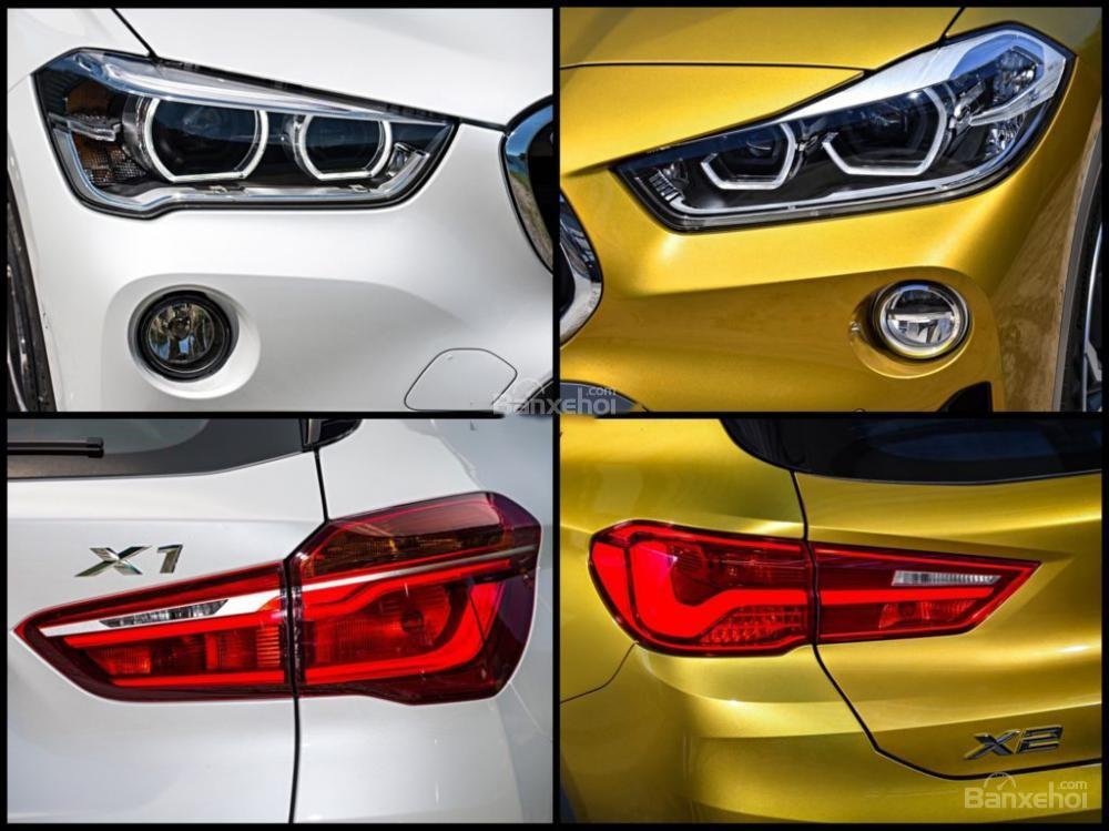 So sánh xe BMW X1 và X2 2018 hoàn toàn mới A4