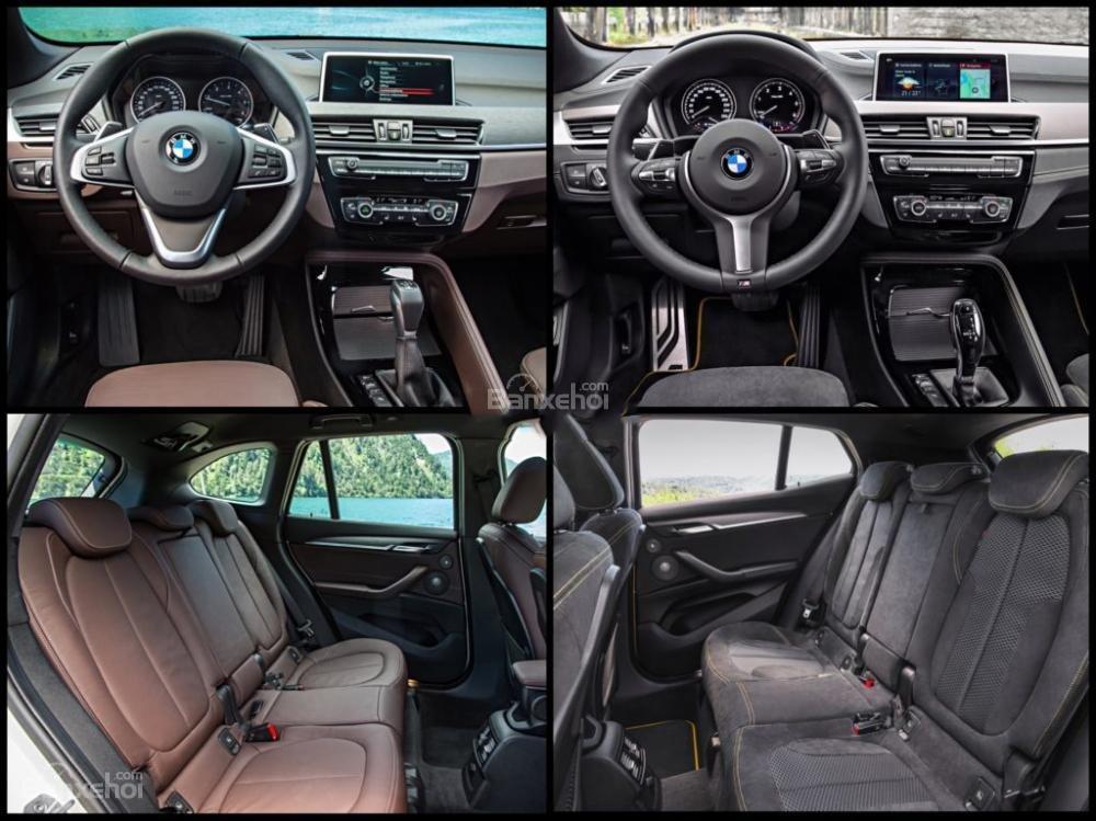 So sánh xe BMW X1 và X2 2018 hoàn toàn mới A5