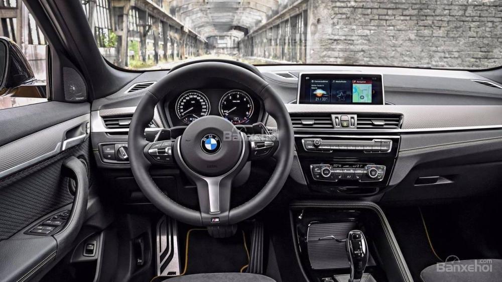 Nội thất BMW X2 2018