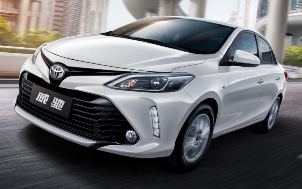 Hình ảnh đầu xe Toyota Vios 2018