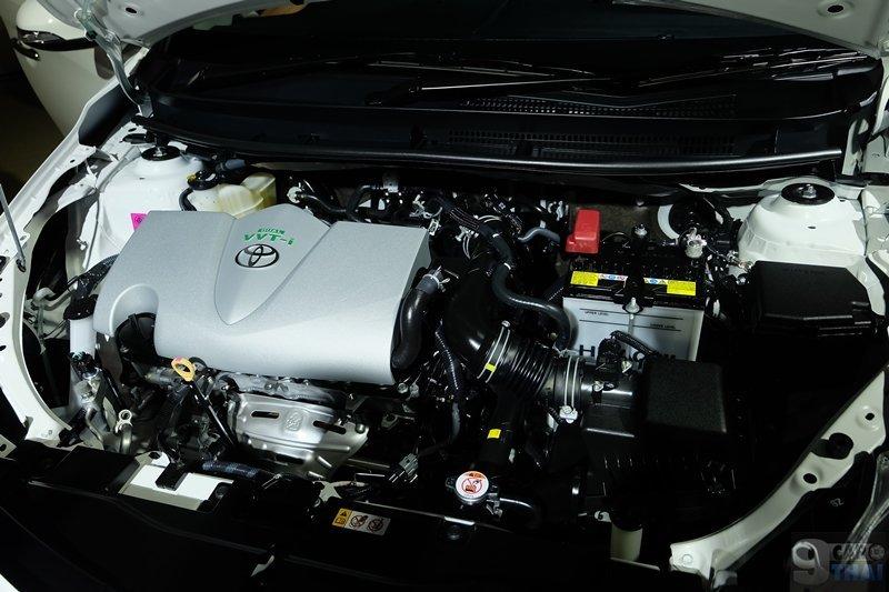 Ảnh chụp động cơ xe Toyota Vios 2018