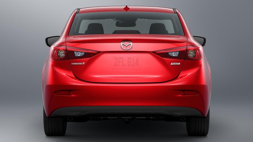 Đuôi Mazda 3 2018.