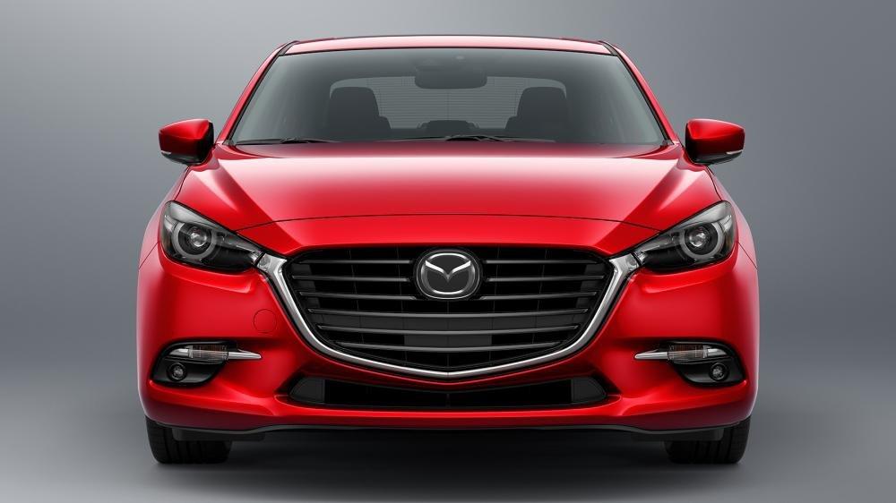 Đầu xe Mazda 3 2018.