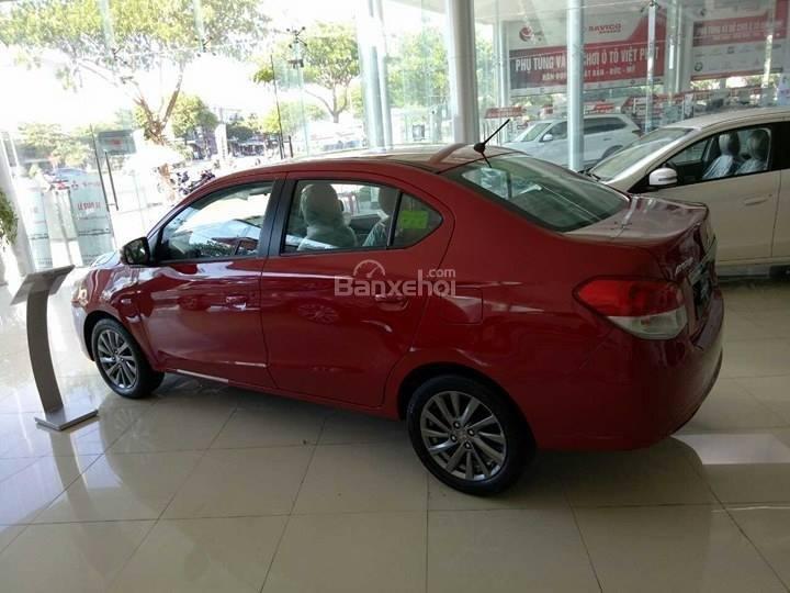 Bán Mitsubishi Attrage số sàn đời 2018, màu đỏ, Xe 5 chỗ số sàn Mitsubishi (7)
