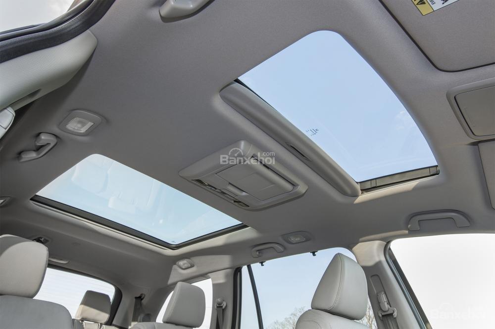 Cửa sổ trời Honda Pilot 2017