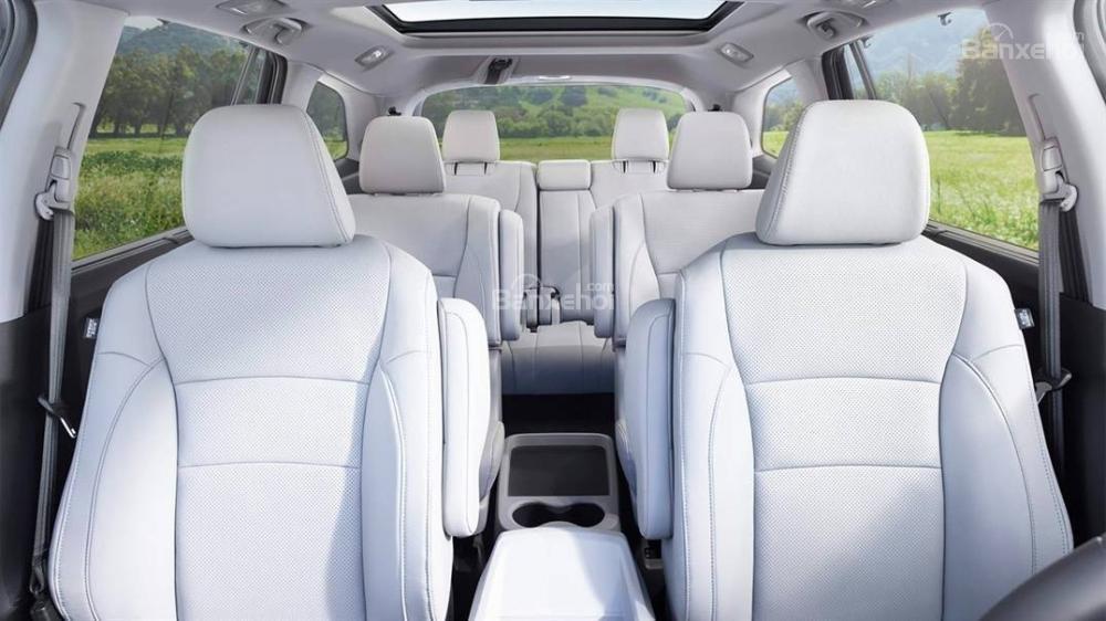 Đánh giá xe Honda Pilot 2018 về hệ thống ghế ngồi 1