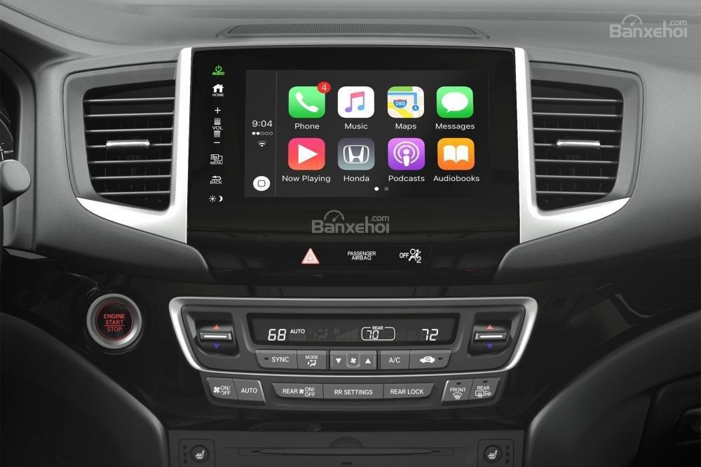 Đánh giá xe Honda Pilot 2017 về trang bị tiện nghi