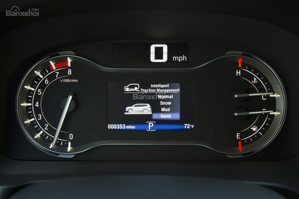 Bảng đồng hồ lái Honda Pilot 2017