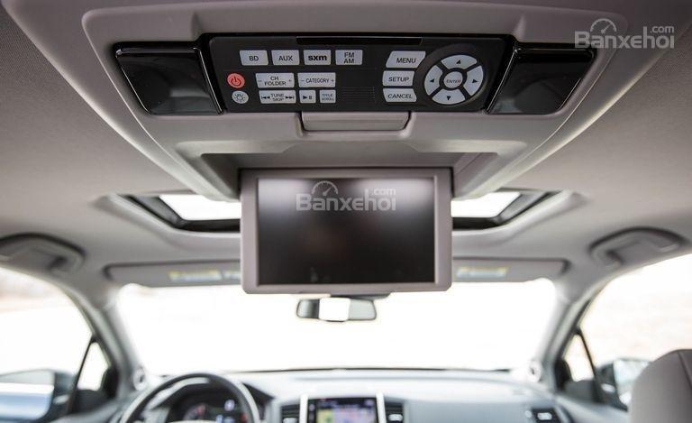 Hệ thống giải trí DVD trên xe Honda Pilot 2017