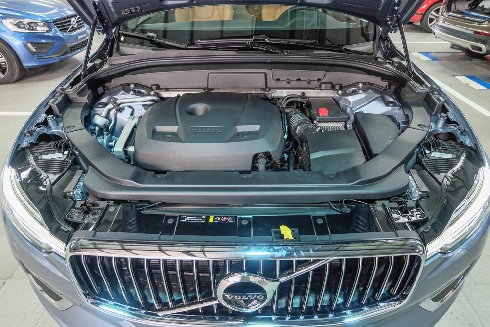Ảnh chụp động cơ xe Volvo XC60 2018